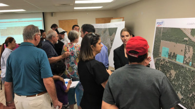 CR 578 at Ayers Road Public Meeting September 2018 three
