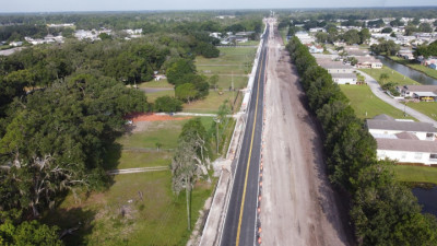 Sam Allen Rd Widening Project - July 2020