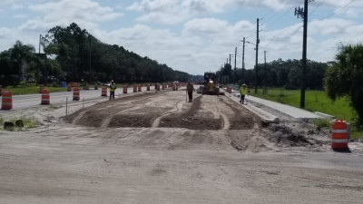 Sam Allen Rd Widening Project/June 2020