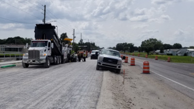 Sam Allen Rd Widening Project -June 2020