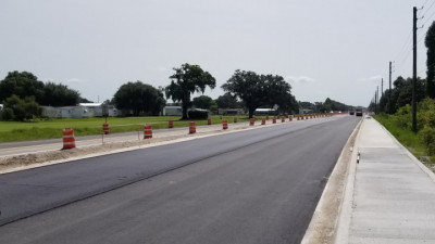 Sam Allen Rd Widening Project - June 2020