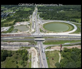 Construction at I-75 and SR52 on 8-16-2016