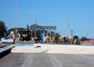 SR 60 (Adamo Drive) Reconstruction Project - Roadbase Installation Jan 2018