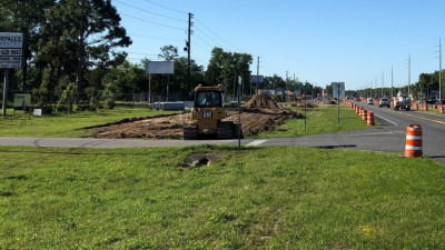 US 19 Widening from Jump Ct to Fort Island Trail Project - Clearing Activities April 2020
