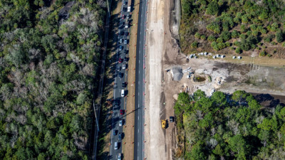 US 19 Widening from Jump Ct to Fort Island Trail - February 2020