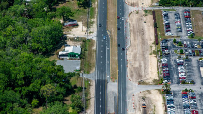 US 19 Widening from Jump Ct to Fort Island Trail Project - April 2020