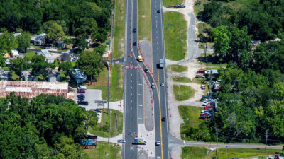 US 19 Widening from Jump Ct to Fort Island Trail Project - May 2020