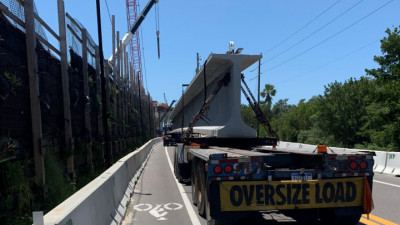 Pinellas Bayway Bridge Replacement Project - Delivery & Installation of Bridge Beams April 2020