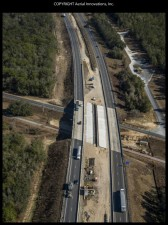 I-75 bridge widening over Croom Rital Road - January 2018