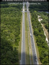 I-75 near Withlacoochee River before construction - May 2016
