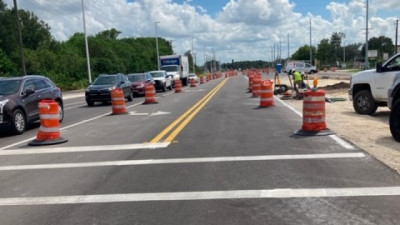 US 301 widening project - September 2020