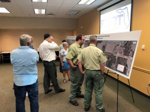 US 301 Open House Stakeholders Viewing Proejct Display Boards