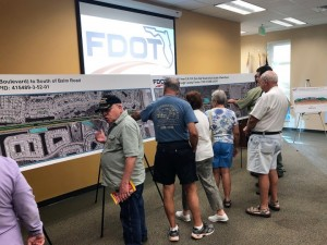 US 301 Open House Stakeholders Viewing Proejct Display Boards 2