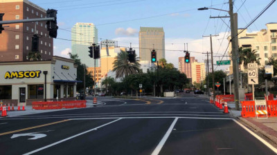 Kennedy Boulevard Traffic Signal Upgrades May 2020