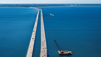 Howard Frankland Bridge January 2021