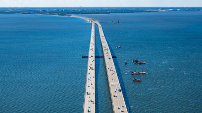 Howard Frankland Bridge December 2020