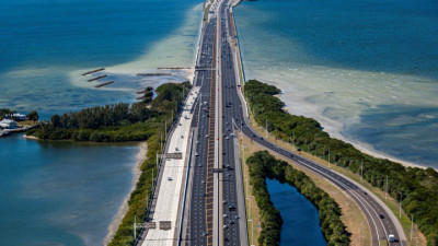 Howard Frankland Bridge February 2021