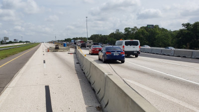 NB I-75 Traffic Shift - June 2020