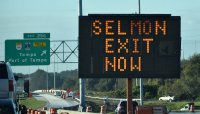 New exit to Selmon Expressway from southbound I-75 opened January 28, 2020
