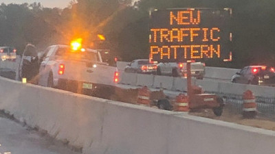 New, temporary traffic pattern for northbound I-75 put into place May 21, 2020