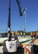 Halls River Bridge Concrete Deck Pour IV May 2018