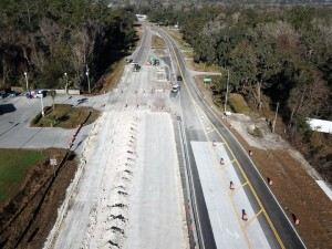 SR 50 Aerial View New Concrete Roadway II January 2018