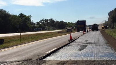 US 41 Project Repaving Southbound Lanes