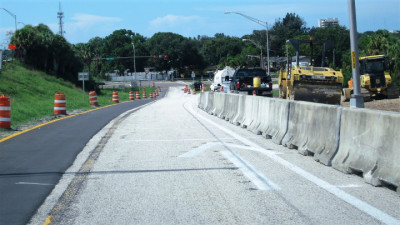 I-275 Interchange Improvement southbound exit ramp to 22nd Avenue South August 2019