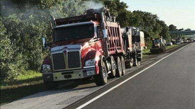 I-75 repaving from Manatee County Line to Big Bend Road --- May 2020