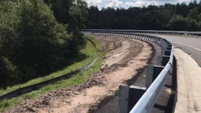 Recently completed eastbound SR 674 entrance ramp to northbound I-75 May 2020