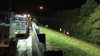 I-75 repaving from Manatee County Line to Big Bend Road --- December 2020