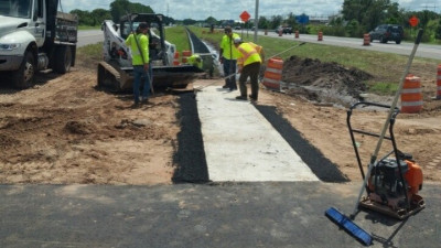 I-75 repaving from Manatee County Line to Big Bend Road --- September 2020