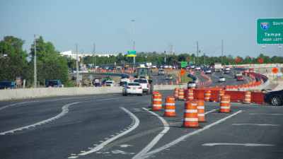 I-75/SR 56 Diverging Diamond Interchange (DDI) - April 2020